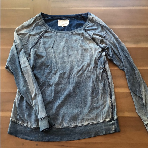 Anthropologie Tops - Distressed Anthropologie Shirt
